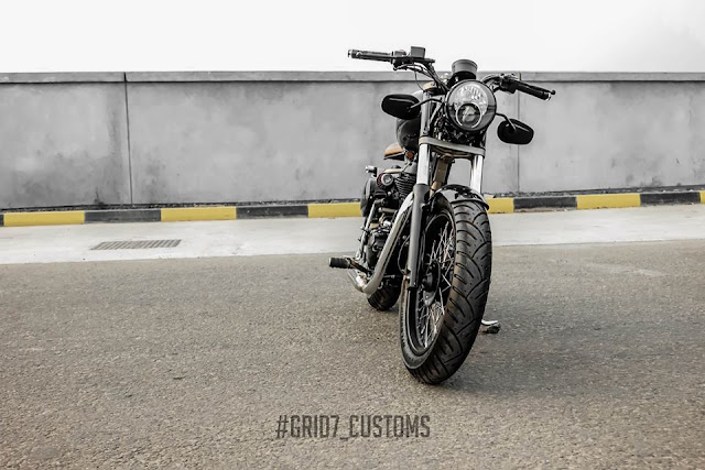 Grid7 Customs Brat Bob