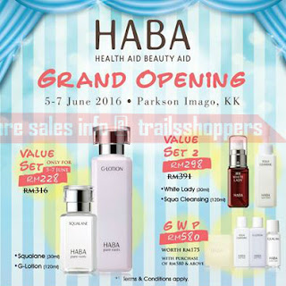 Parkson Imago HABA Grand Opening Offer