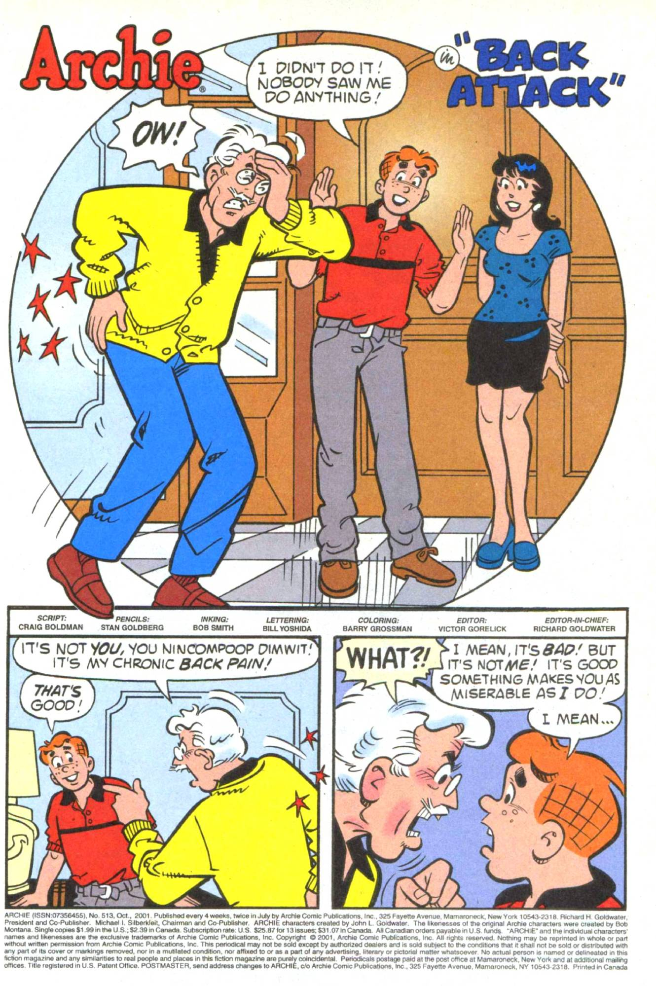 Read online Archie (1960) comic -  Issue #513 - 3
