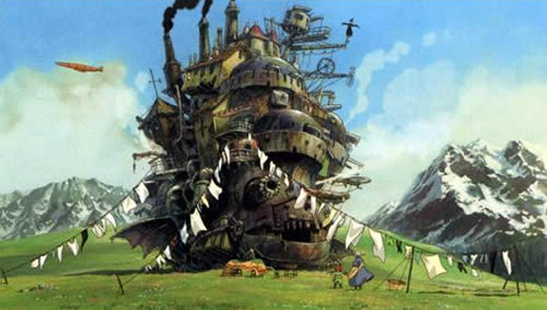 Magic & Make Believe: The Wasteland: HOWL'S MOVING CASTLE