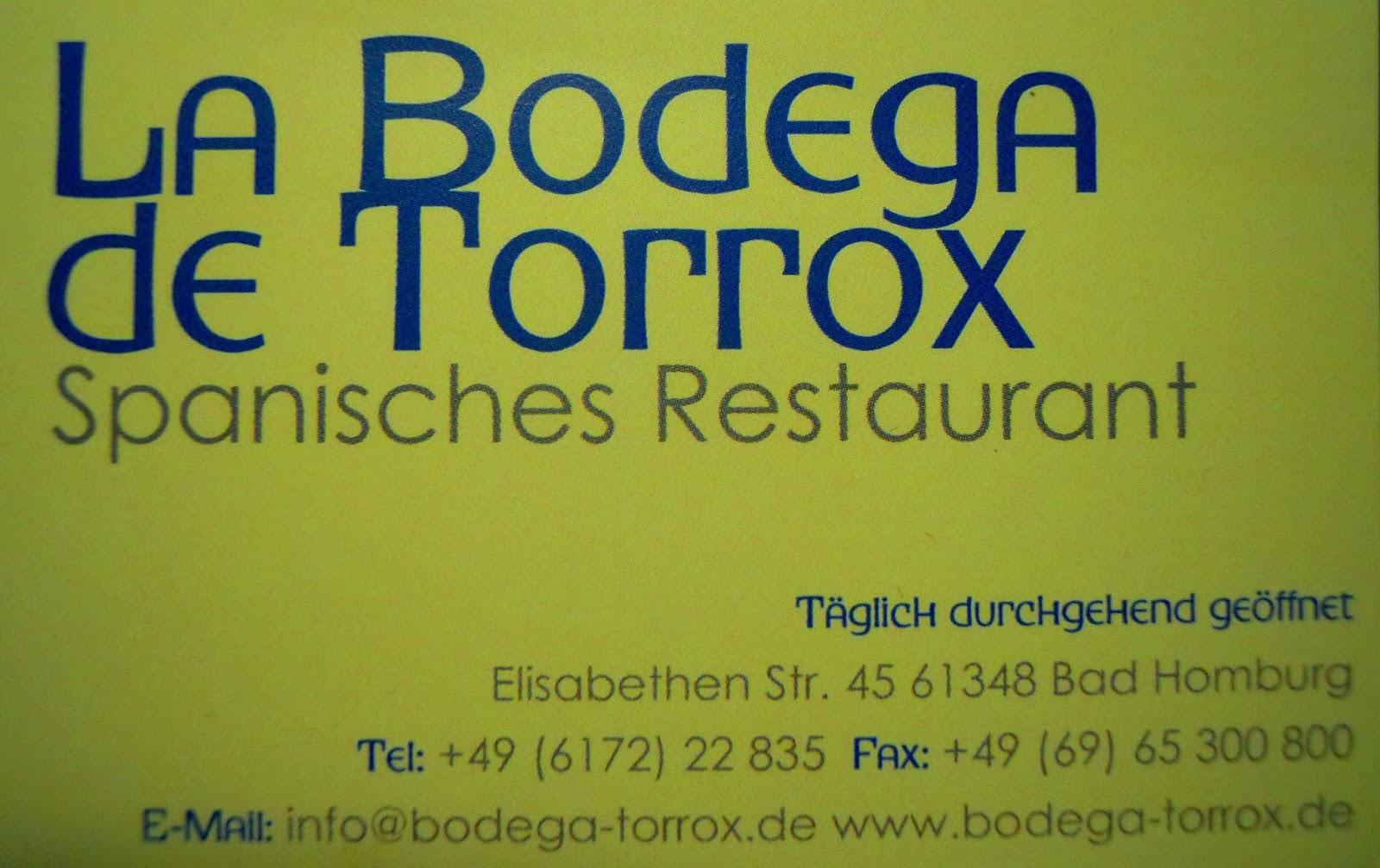 Good food fine wine  128La Bodega de TORROX  Bad