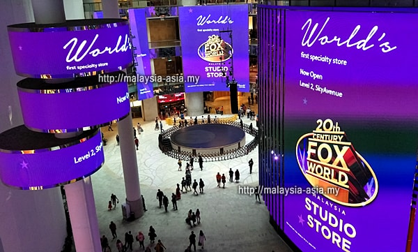 Malaysia Fox World Store Opening