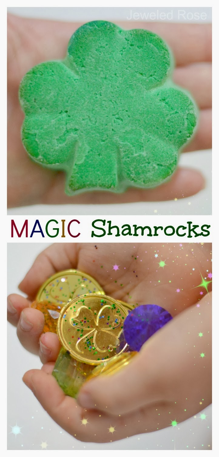 Magic Shamrocks For Kids Growing A Jeweled Rose