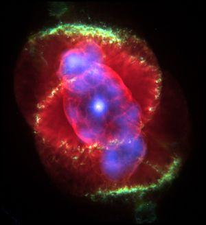 علماء فلك يرصدون بدايات انفجار نجمي