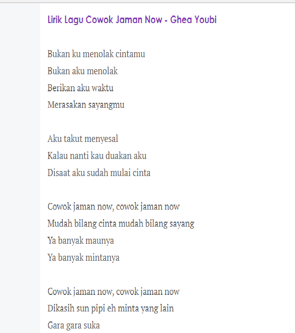 Download Lagu Better Now Post: (5.37 MB) Ghea Youbi