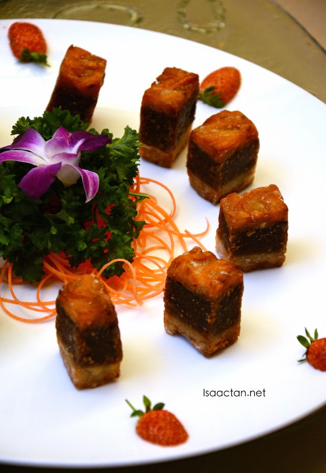 Fried Traditional Nian Gao with Yam and Sweet Potatoes