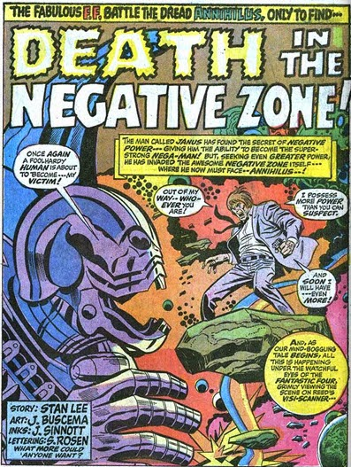 Fantastic Four 109-DeathInNegativeZone