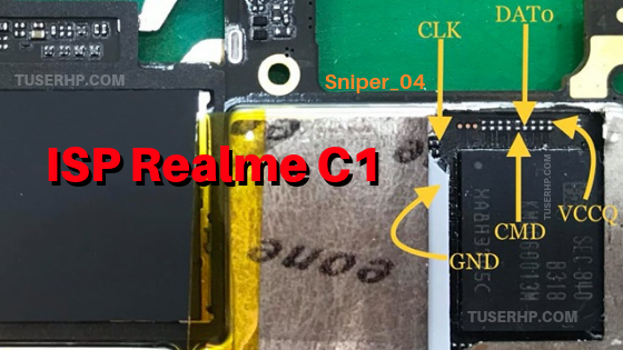 Realme C1 RMX1811 Isp Pinout - TUSERHP