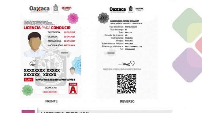 La Región Oaxaca Licencia De Conducir Permanente