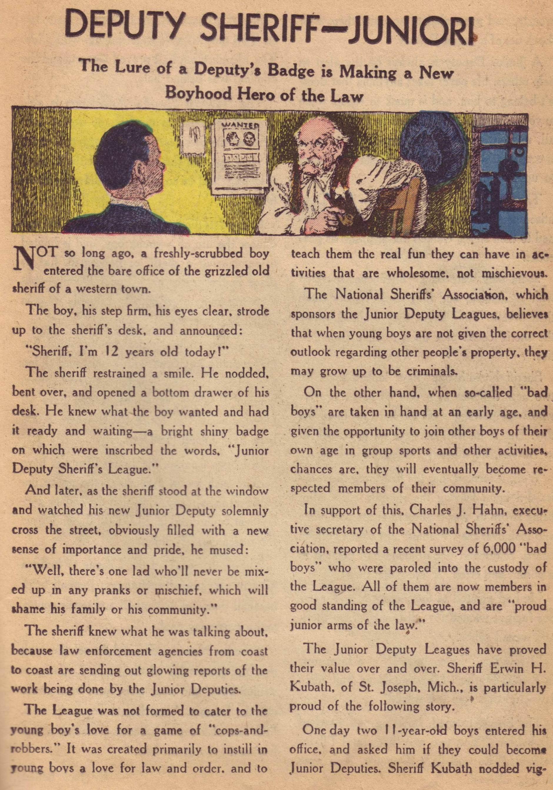 Read online Detective Comics (1937) comic -  Issue #197 - 31
