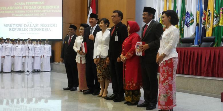 Ahok Sebut Mendagri Tak Salah Pilih Tunjuk Plt Gubernur DKI