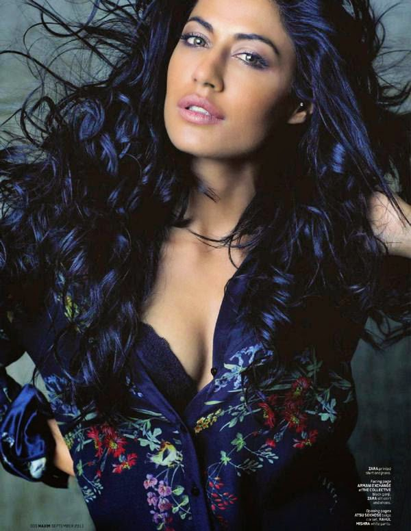 Chitrangada Singh cleavage in Maxim Magazine 2011