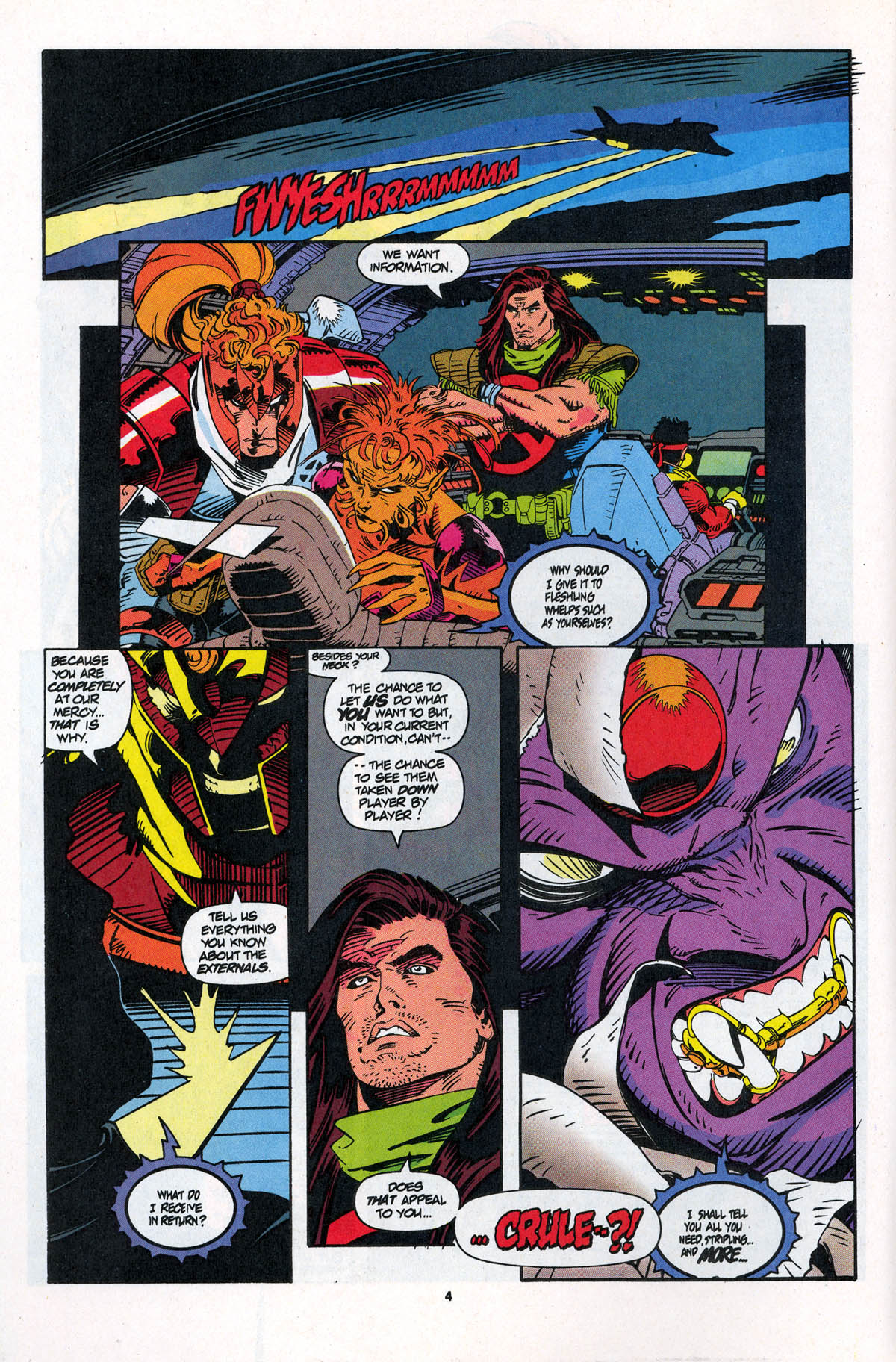 Read online X-Force (1991) comic -  Issue #23 - 6