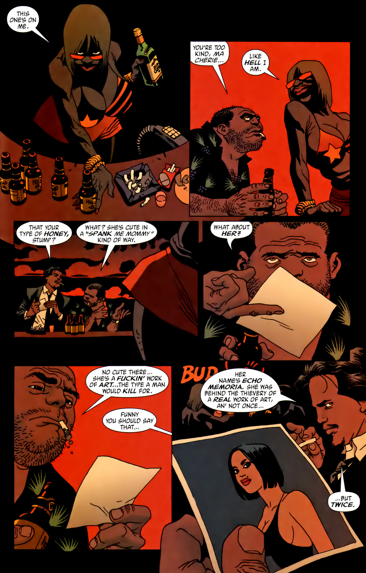 Read online 100 Bullets comic -  Issue #62 - 16