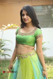 Actress Nikitha Bisht Stills in Lehenga Choli at Pochampally Ikat Art Mela Launch  0268.JPG