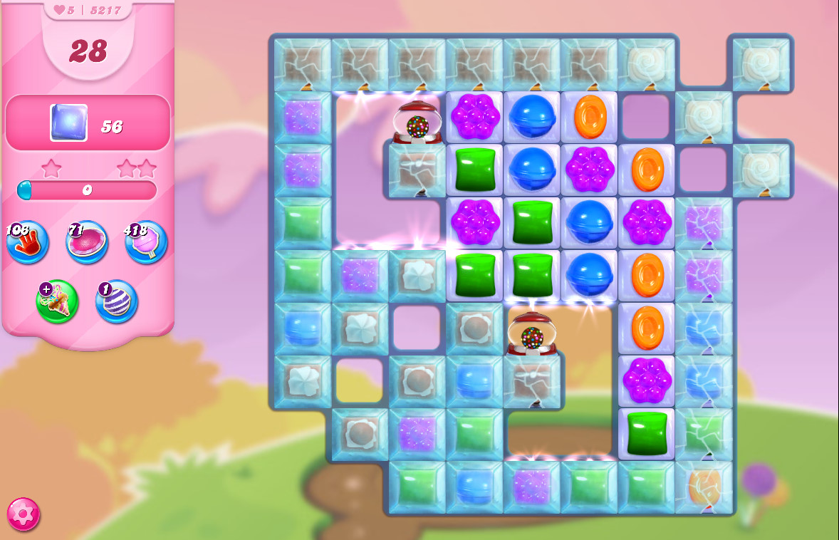 Candy Crush Saga level 5217