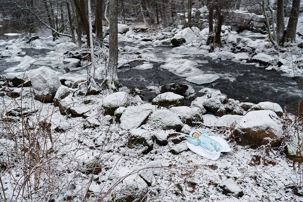Hannu Pakarinen foto documental, bosque nevado