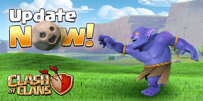 update clash of clans 2016
