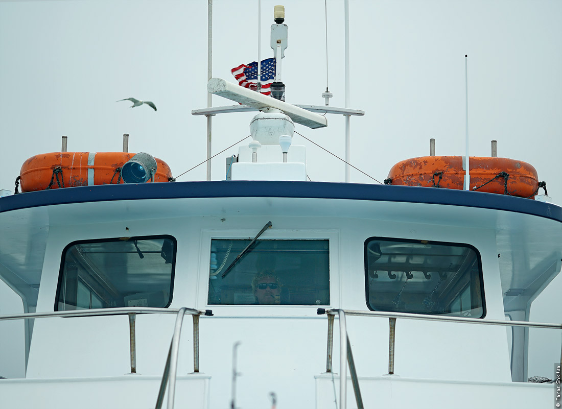 Montauk. NY. Fishing. Captain of a boat