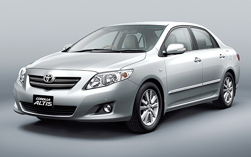Corolla Altis 2011 India