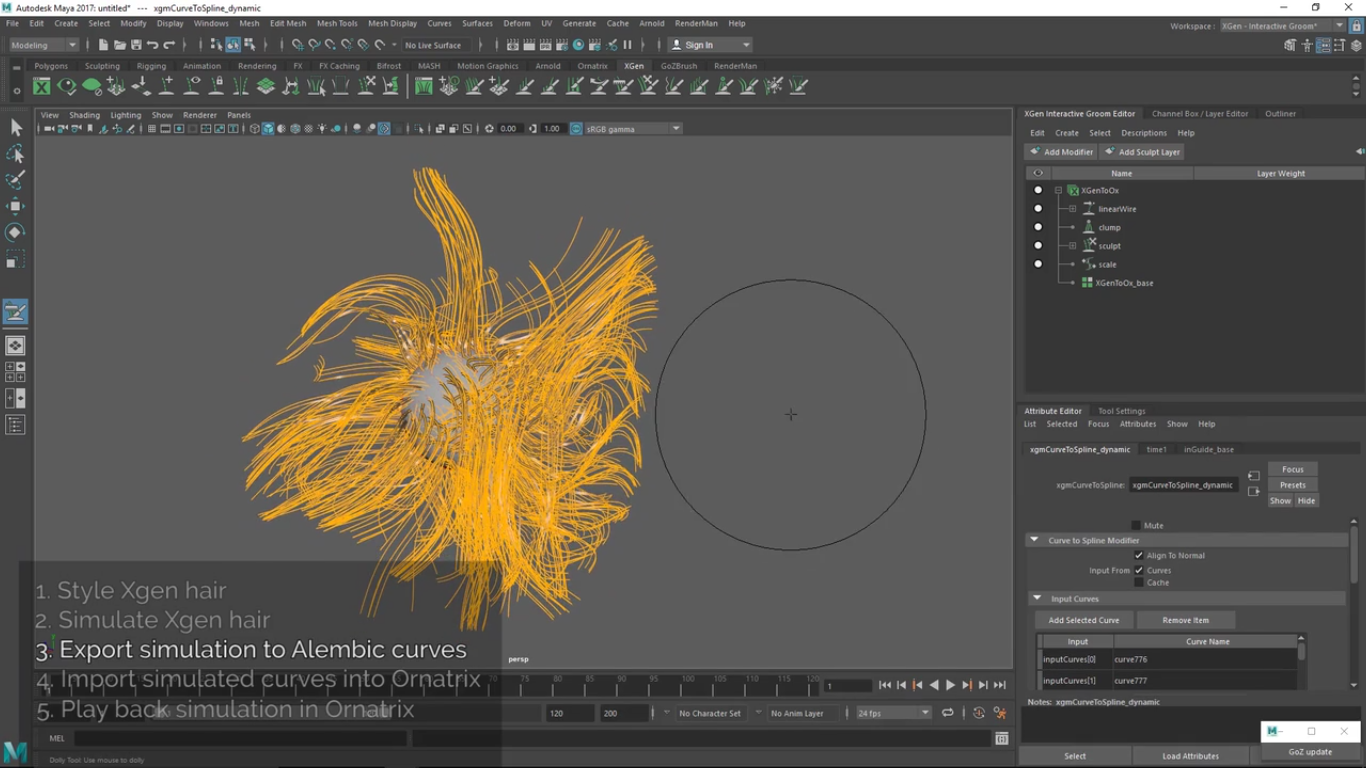See Also: Texturing & Shading With Ornatrix Hair