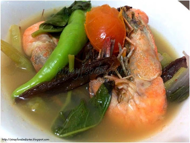 Recipes Sinigang Na Hipon Sa Kamias