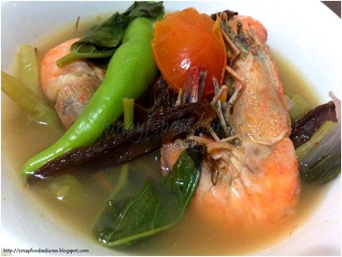 Recipes | Sinigang na Hipon sa Kamias