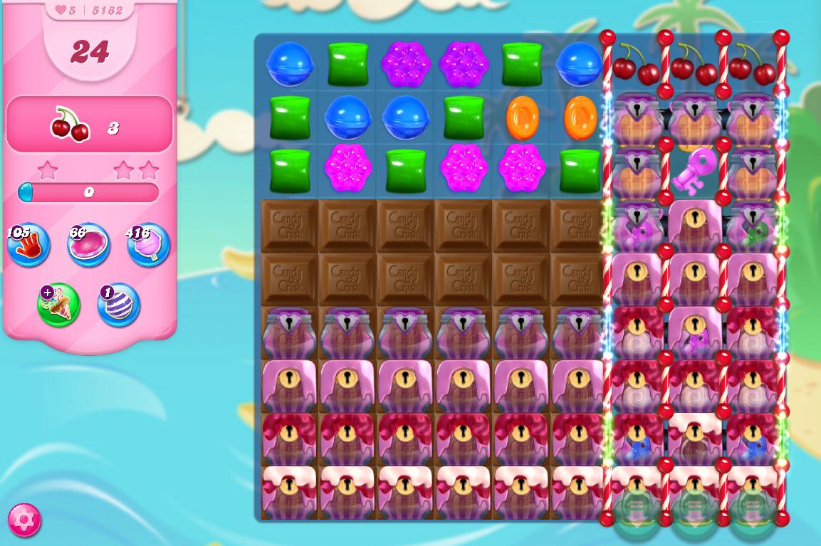 Candy Crush Saga level 5182