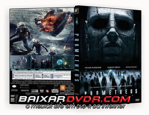 PROMETHEUS (2012) DUAL AUDIO DVD-R OFICIAL