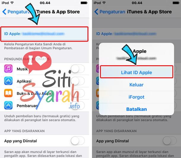 cara ubah region app store