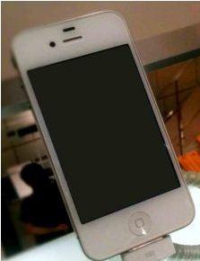 layar iPhone menghitam