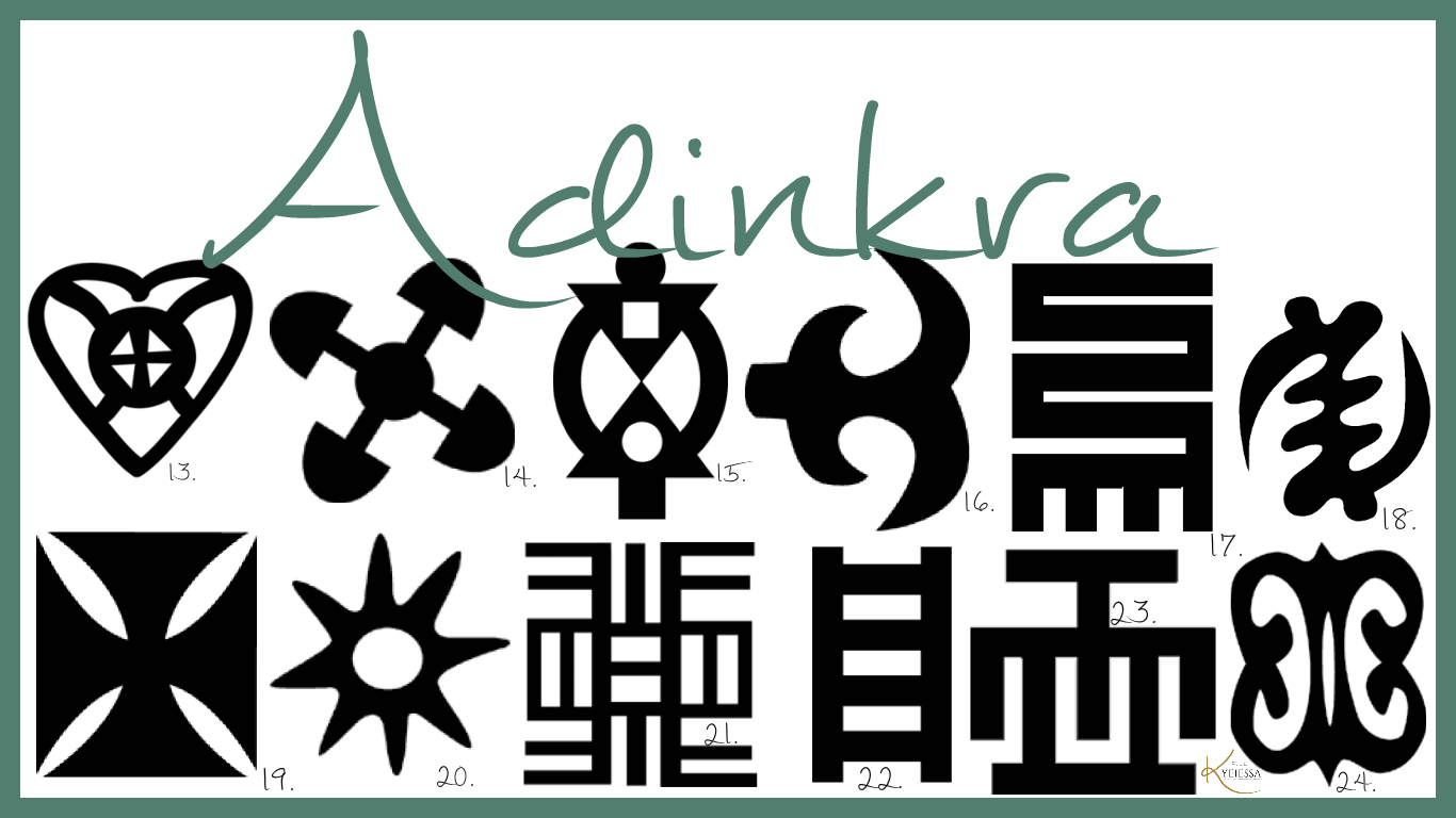 Adinkra abokes3m 3na 3mu asekyer3 history of adinkra its this symbol is called onyankopon adom nti biribiara beye yie which literally means by the grace of god everything will be alright biocorpaavc Image collections