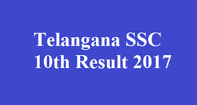 Telangana SSC 10th Result 2017