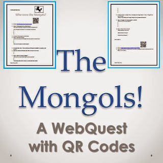 The Mongols: A Webquest with QR Codes