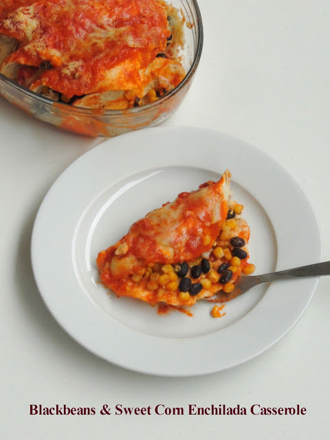 Blackbeans & Sweet Corn Enchilada Sauce