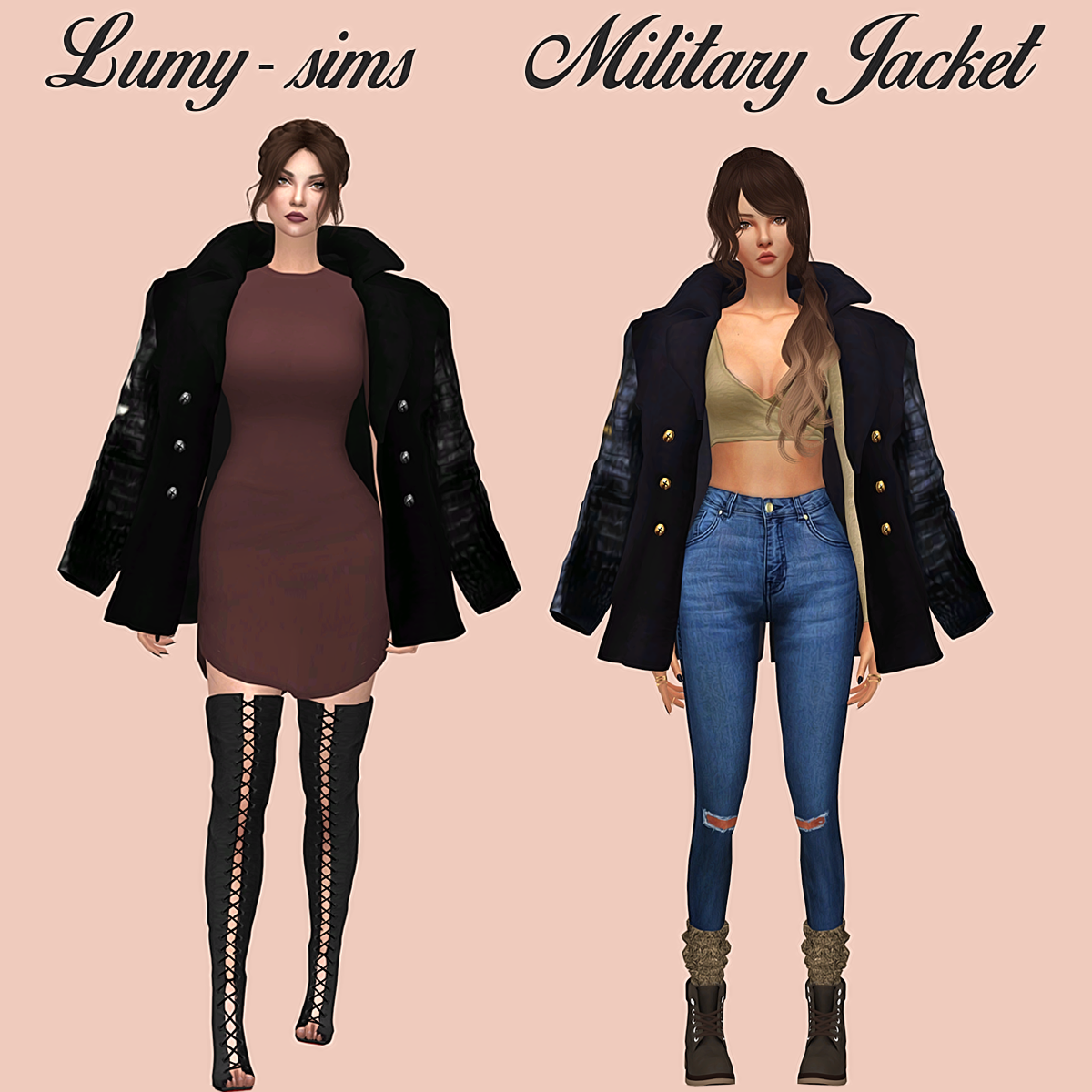 My Sims 4 Blog Accessory Jackets Bags And Dogs By Lumysims