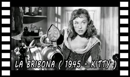 Secuencia de la película La bribona (1945) (Kitty)