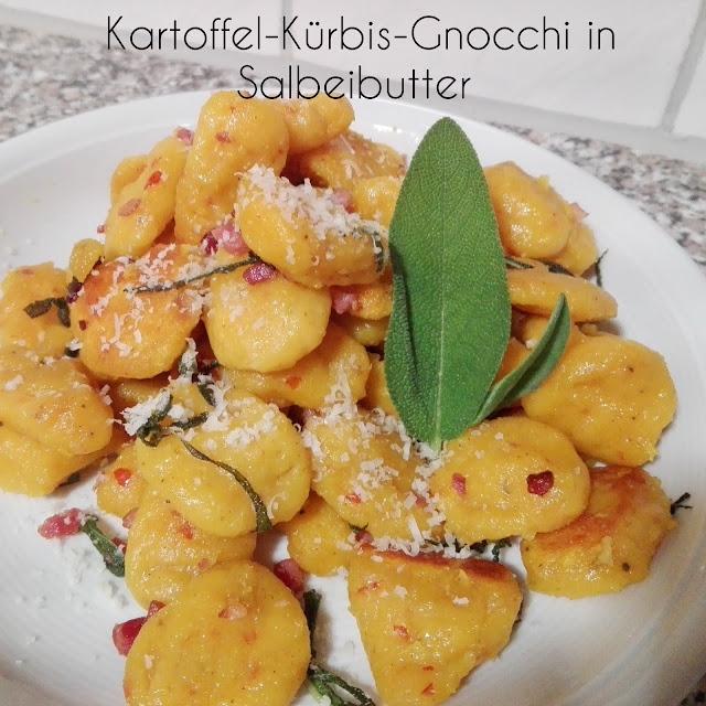 [Food] Kartoffel-Kürbis-Gnocchi in Salbeibutter