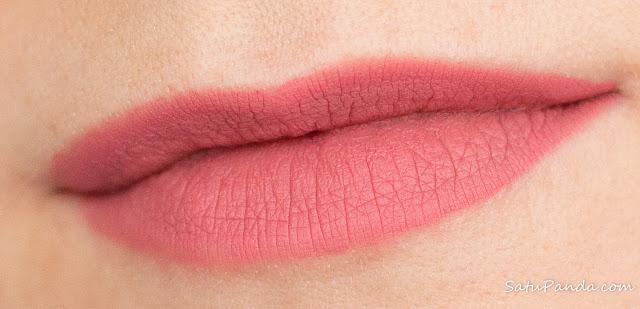 Rimmel Stay Matte Liquid Lip Colour 100 Pink Bliss свотчи и отзыв