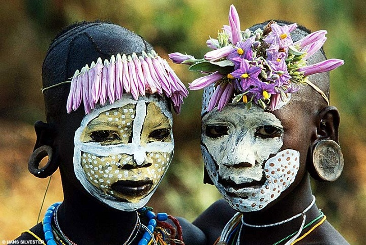 アフリカの角の木彫り