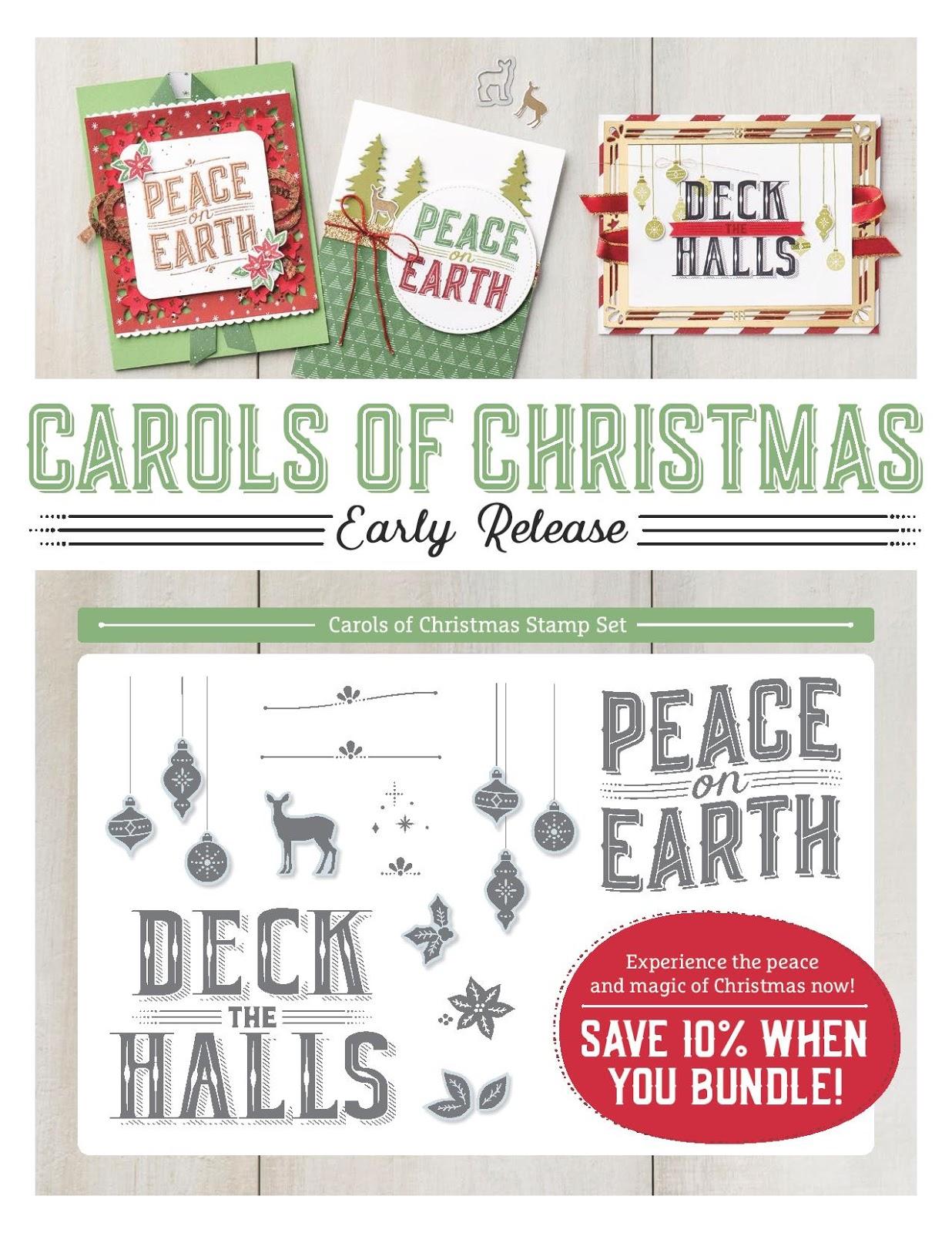 Stylin\' Stampin\' INKspiration: Carols of Christmas