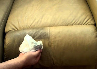 remove stains from leather couches