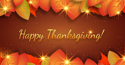 Happy Thanksgiving from #OurAuthorGang