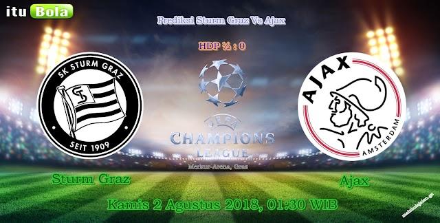 Prediksi Sturm Graz Vs Ajax - ituBola