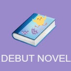 debut novel book icon