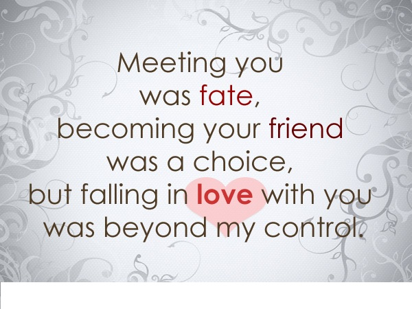 Fate Destiny Love And Quotes