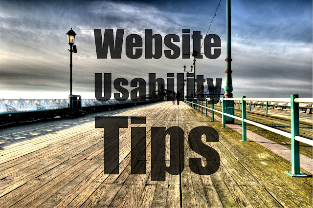Usability Tips for Website
