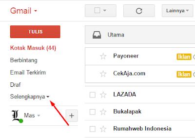 Mengatasi Pesan Email Tidak Masuk di Inbox Gmail 2