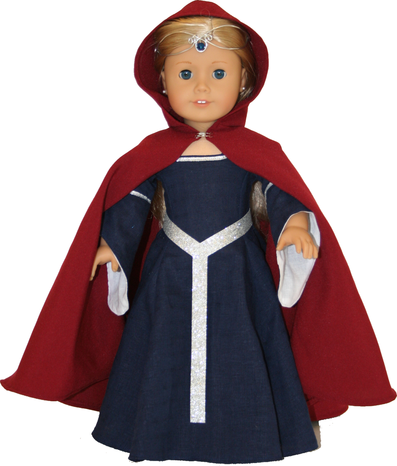 Arts and Crafts for your American Girl Doll: Medieval Cape ...