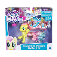 My Little Pony The Movie Fluttershy Land and Sea Fashion Styles Brushable